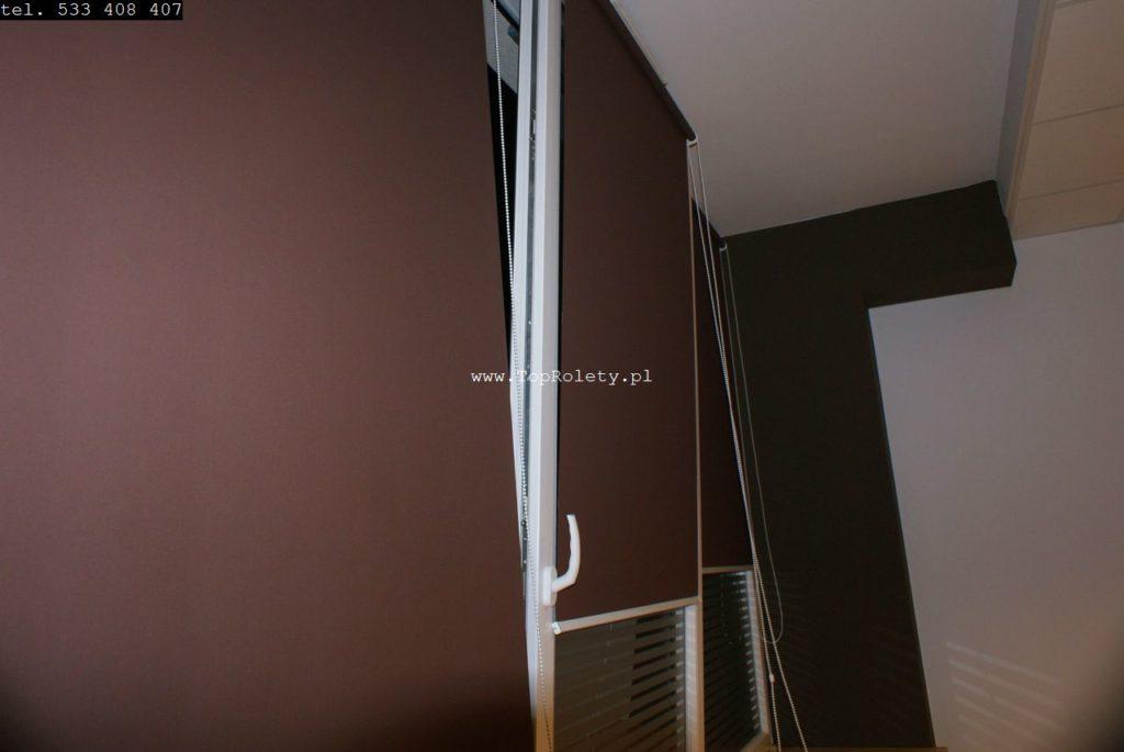 Montaż rolet mieszkanie do okna Warszawa Wola