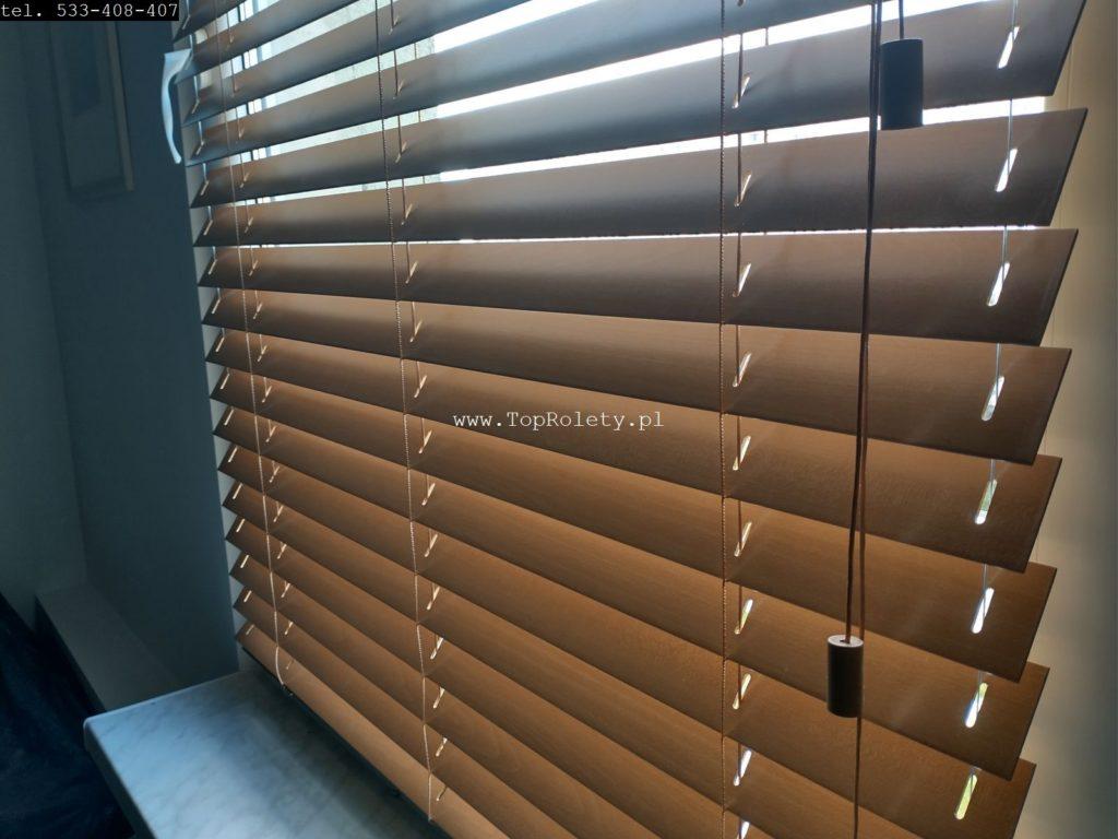 Galeria zaluzje drewniane 50mm warszawa toprolety 10 904