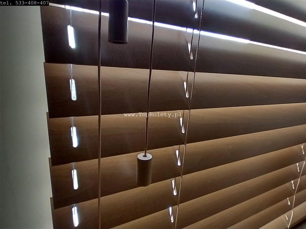 Galeria zaluzje drewniane 50mm warszawa toprolety 10 916