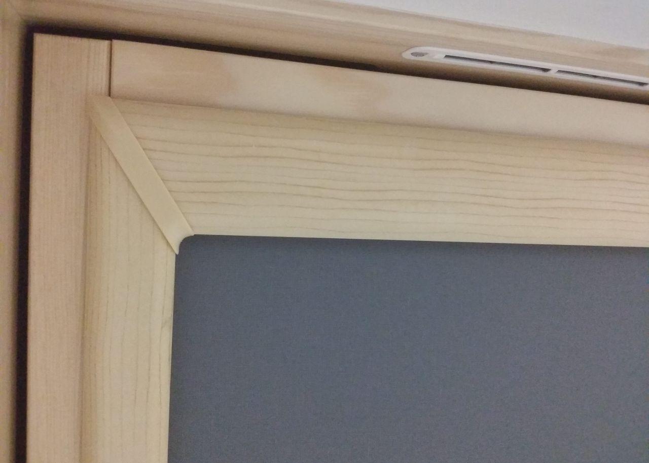 Kaseta rolety dachowej - Okleina drewno-podobna